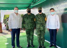 El Gral. Enrique Dena Delgado asume la Comandancia la III Región Militar.